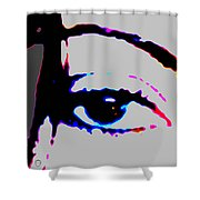 Eye Peace 2 Shower Curtain by Eikoni Images