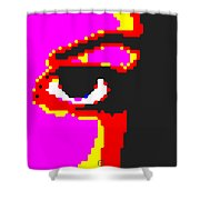 Eye Peace 4 Shower Curtain by Eikoni Images