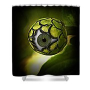 Eye Will See You In The Garden Shower Curtain