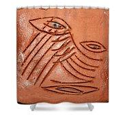Eyes Adrift - Tile Shower Curtain