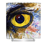 Eyes Of Owl's No.6 Shower Curtain