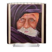 Eyes Of Rajasthan Shower Curtain