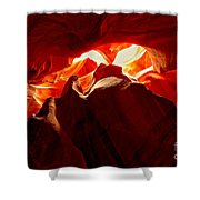 Eyes Of The Canyon Shower Curtain