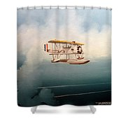 Eyes Of The Fleet Shower Curtain