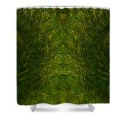 Eyes Of The Garden-2 Shower Curtain