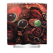 Eyes Of The Universe # 5 Shower Curtain