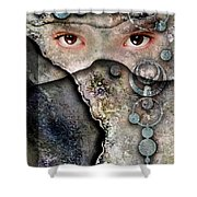 Eyes Of Vision Shower Curtain