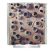 Eyes On Braille Page Shower Curtain