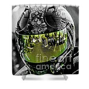 Eye's On The Road Shower Curtain