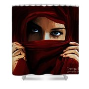 Eyes On You 01 Shower Curtain