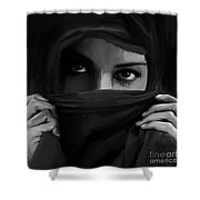 Eyes On You 02 Shower Curtain