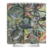 Eyescape Shower Curtain