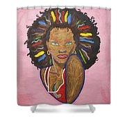 Erzulie Dantor Shower Curtain