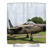 F-105 Thunderchief - 1 Shower Curtain