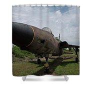F - 105 Thunderchief Shower Curtain
