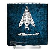 F-117 Nighthawk  Shower Curtain