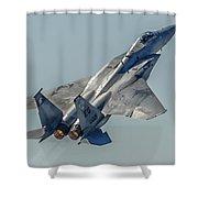 F-15 Afterburner Shower Curtain
