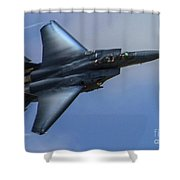 F-15 Going Supersonic Shower Curtain