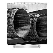 F 15 Thrusters B Shower Curtain