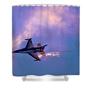F-16 Shower Curtain
