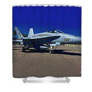 F-18 Hornet Shower Curtain