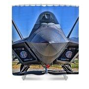 F-22 Raptor 1 Shower Curtain