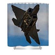 F-22 Raptor 3 Shower Curtain