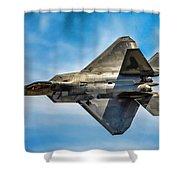 F-22 Raptor 4 Shower Curtain