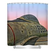 F-84g Thunderjet Shower Curtain