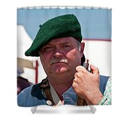 F And I War Re-enactor 6942 Shower Curtain