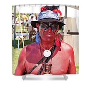F And I War Re-enactor 6965 Shower Curtain