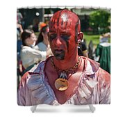 F And I War Re-enactor 6972 Shower Curtain
