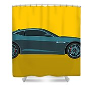 F Type Shower Curtain