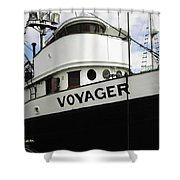 F V Voyager Shower Curtain