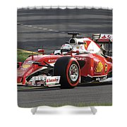 F1 2016 Shower Curtain