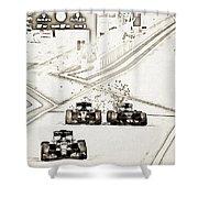 F1 Shower Curtain