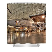 F14 Tomcat Shower Curtain