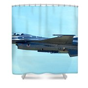 F16 Shower Curtain