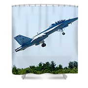F18 - Take Off Shower Curtain
