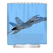 F18 Shower Curtain
