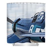 F4u Corsair N11y Shower Curtain