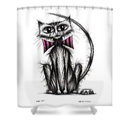 Fab Cat Shower Curtain