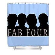 Fab Four Shower Curtain