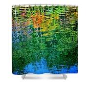 Fabian Pond Reflections3 Shower Curtain
