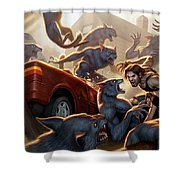 Fables Shower Curtain