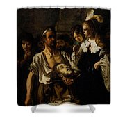 Fabritius Carel The Beheading Of St John The Baptist Shower Curtain