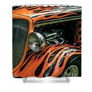 Fabulous Flames  Shower Curtain