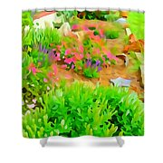 Fabulous Florals 323 Shower Curtain