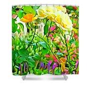 Fabulous Florals 333 Shower Curtain