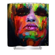 Face Me Shower Curtain